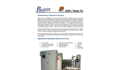 Photo-Cat - Chemical Free Photo-Catalytic Process System- Brochure