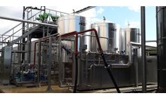 Environmental solutions for pasteurisation of sludge sector