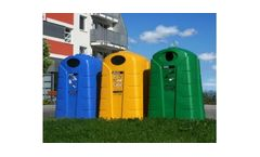 ELKOPLAST - Model KTS - Polyethylene Recycling Containers