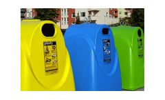Model GFA and GFB - Fibreglass Recycling Containers