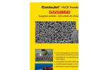 CastoJet 55586C HVOF Powder Tungsten Carbide - 10% Cobalt 4% Chromium Brochure