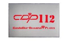 Model CDP 112 - Diamond Plates