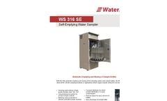 Model WS 316 SE - Self-Emptying Water Sampler Datasheet