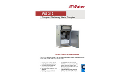 WaterSam - Model WS 312 - Compact Stationary Water Sampler Datasheet