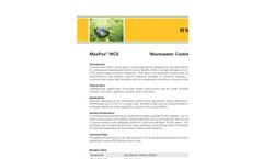 MaxPox - Wastewater Coating System Brochure