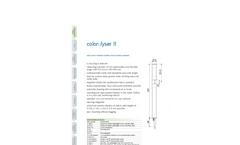 i::scan - Multi Parameter Spectrometer Probe Brochure