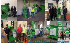 Guidetti Sincro customers - scarps wire copper recycling