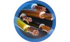 Products for electric cables and radiators recycling
