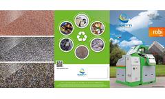 Guidetti - Model ROBI Series - Dry Densimetric Separators - Brochure