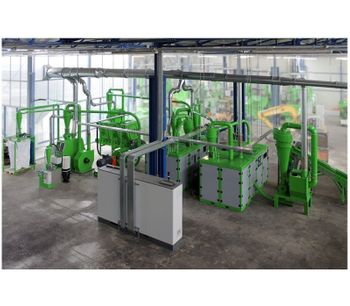 Guidetti recycling machines - Model WEEE Series (RAEE) and Carfluff (ASR) - aluminum - Industrial Scrap copper aluminum  Recycling System