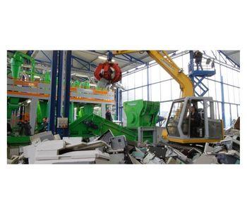Industrial Scrap copper aluminum  Recycling System-1