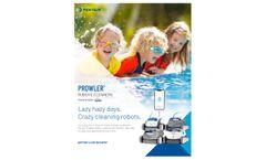 Pentair Prowler - Model 920 - Robotic Inground Pool Cleaner - Brochure