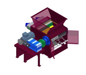 Promeco - Model KR - Single Shaft Shredder