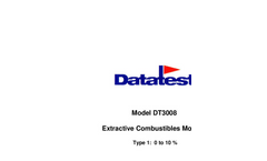 Model DT1000 - Microprocessor Based Double Pass EPA Compliance Opacity Monitor Manual