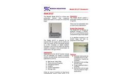 Model 201LP - Three Wire Triboelectric Detector / Broken Bag Detector Brochure