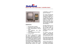 Model DT3006 - Close Coupled Extractive Oxygen/Combustibles Analyzer Brochure