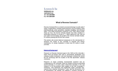 Theory & Overview of Reverse Osmose - Brochure