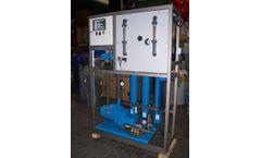 Lenntech - Small Seawater Reverse Osmosis Plant