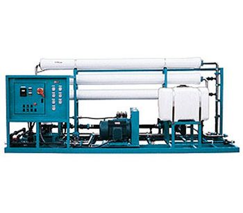 Lenntech - Large Seawater Reverse Osmosis Plant