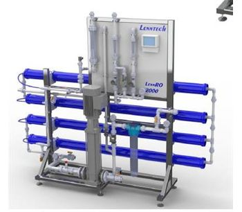 LennRO - Tap / Low Brackish Water Reverse Osmosis Systems for 1000 l/h, 1250 l/h, 1500 l/h & 2000 l/h.