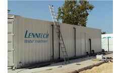 LennRO - Containerized Sea Water Desalinations Systems 100 m³/day, 300 m³/day, 500 m³/day
