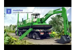 Mobile and Versatile Watermaster Dredger - Animation Video
