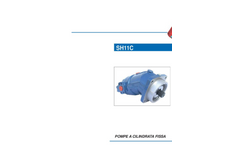 SH11C - Fixed Displacement Pumps - Technical Catalogue