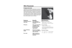 Parker - Model FM-4 Series - PFA/PTFE Flowmeter - Brochure