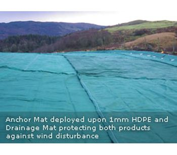 Anchor Mat - Model x - For Plastic Membranes and Geotextiles