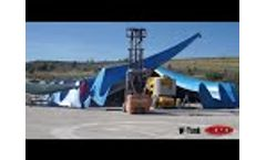 W-Tank, Fitting Test Hypar Cover - Video