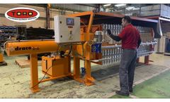 Draco Automatic Filter Press - Video