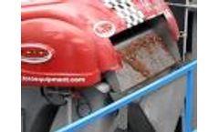 Rotary Screen HPS TORO Wastewater Equipment Video