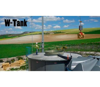 Benefits and characteristics of W-Tank digesters®