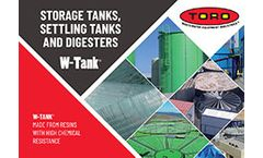 New W-Tank® Storage and Settling Tank Catalogue Now Available