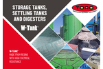 Storage Tanks, Settling Tanks and Digesters