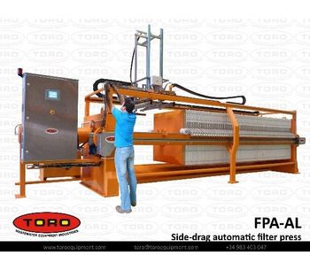 Side-Drag Atuomatic Filter Press-1