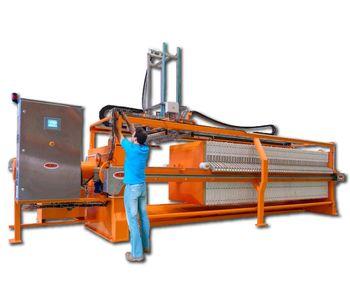 Draco - Model FPA-AL - Side-Drag Atuomatic Filter Press