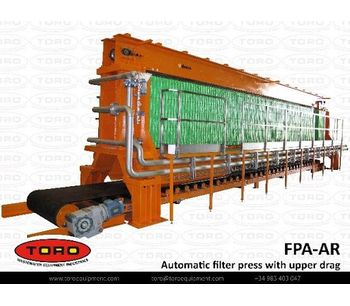 Automatic Filter Press With Upper Drag-1