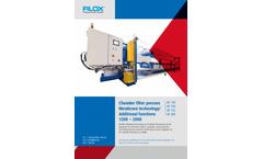 Filox - Model KF 120 to KF 200 - Chamber Filter Press Membrane Technology - Datasheet