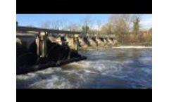 Romney Weir Hydro Power Screw Turbines Video
