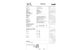 BTP Series - Dry Installed Pump - Datasheets
