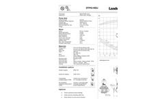Landustrie - DTP Series - Submersible Pump - Datasheets