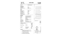 Landustrie LANDY - Pump Solutions - Brochure
