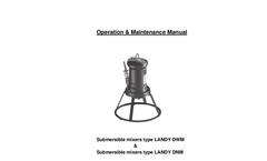 Type Landy DWM & DNM Atex Series - Submersible Mixers - Operation & Maintenance Manual