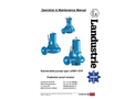 DTP Ex Series - Submersible Pumps - Operation & Maintenance Manual