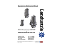 Type Landy DWP & DNP - Submersible Pumps - Operation & Maintenance Manual