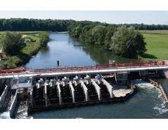 Hydropower scheme Steinsau-Erstein, Alsace, France