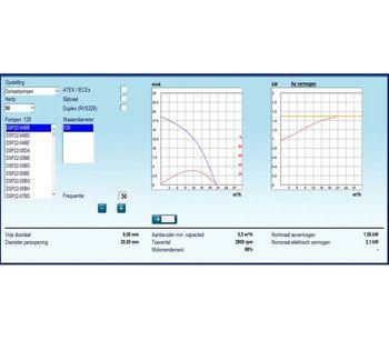Landustrie Landy - Version Sel 3.0 - On-Line Pump Selection Program Software