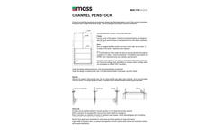 Mass Aritma - Model MAN 1100 - Channel Penstocks Brochure