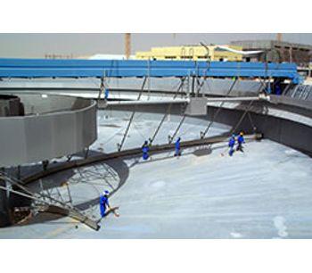 Mass Aritma - Model MAN 4020 - Revolving Bridge Scrapers